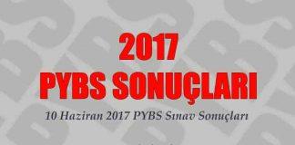 10 haziran 2017 pybs sonuçları