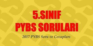 5.sınıf bursluluk sınavı soruları 2017