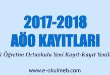 2017-2018 Açık Öğretim Ortaokulu