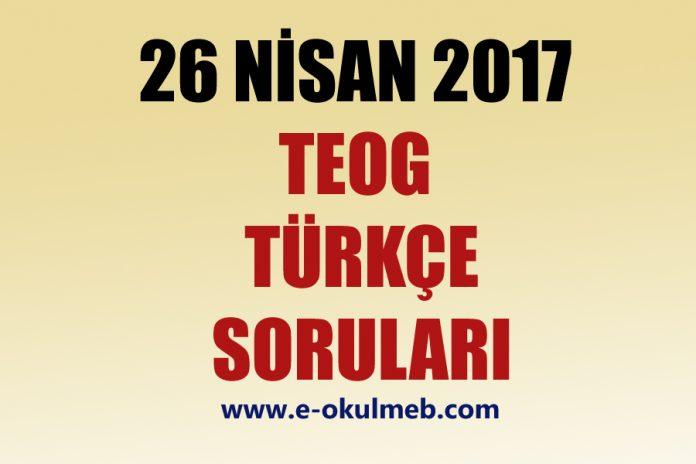 2017 teog türkçe soruları