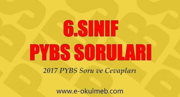 6.sınıf bursluluk sınavı soruları 2017