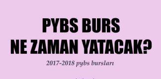2017 pybs bursları ne zaman yatacak