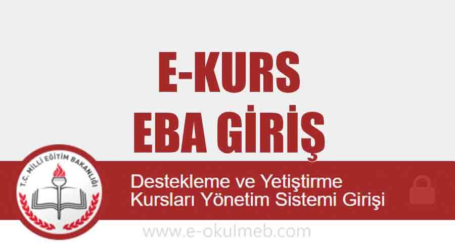 Eba E Kurs Giriş (e-kurs.eba.gov.tr)