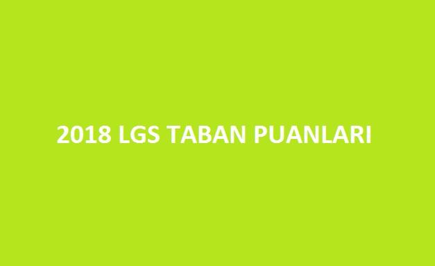 2018 lgs taban puanları ve kontenjanları