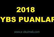 pybs bursluluk sınavı taban puanları 2018