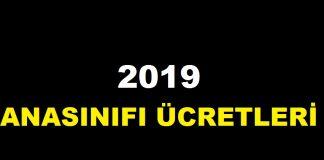 2019 anasınıfı ücretleri anaokulu kayıt ücretleri