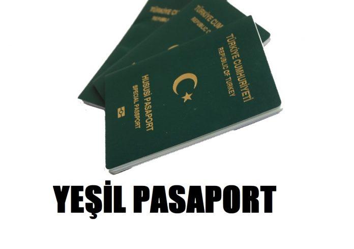 yeşil pasaport başvurusu