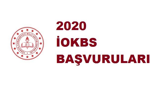 2020 İOKBS bursluluk sınavı başvuruları
