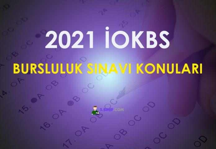 Bursluluk Sınavı Konuları 2021